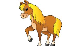 Con gì bỏ đuôi thành con ngựa?