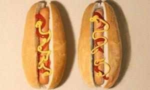 Bánh nào là thật, bánh nào là hình vẽ?