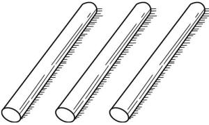 Làm sao biến 3 chiếc que này thành 4 mà không bẻ gãy cái nào?