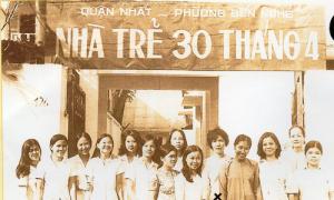 Nhà trẻ đầu tiên ở Sài Gòn mang tên ngày thống nhất