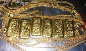 Chuyển lậu 600 gram vàng trong trực tràng