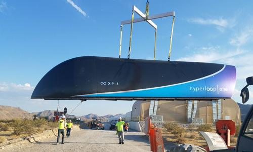Tàu siêu tốc 1.200 km/h vượt qua cuộc thử nghiệm đầu tiên