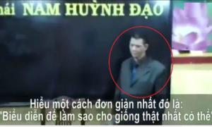 Hậu trường biểu diễn công phu 'lăng không kình' của Nam Huỳnh Đạo
