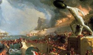 Biến đổi khí hậu và đại dịch đẩy La Mã vào cảnh diệt vong