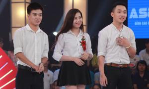 Trấn Thành, Trường Giang phấn khích với 'tình tay ba' của thí sinh