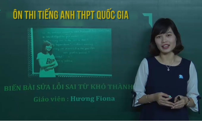 Mẹo làm bài sửa lỗi sai tiếng Anh trong kỳ thi THPT quốc gia