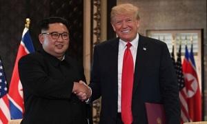 Trump nhận thư mới của Kim Jong-un