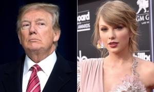 Trump nói bớt thích ca sĩ Taylor Swift vì ủng hộ đảng Dân chủ