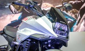 Suzuki hồi sinh 'huyền thoại' môtô Katana