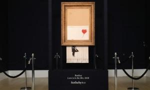 Bức tranh 1,4 triệu USD bị cắt vụn ngay sau khi đấu giá