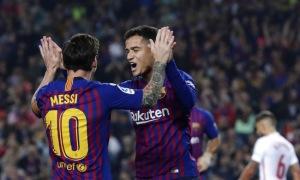 Barca áp đảo danh sách bàn thắng đẹp vòng 9 La Liga