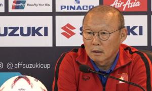 Ông Park Hang-seo nói HLV Myanmar nên 'xem lại bản thân'