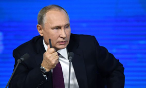 Putin nói Tổng thống Ukraine 'đẩy thủy thủ tàu chiến đến chỗ chết'