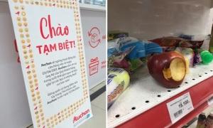 Những người Việt phũ phàng đáp lại lời chia tay của Auchan