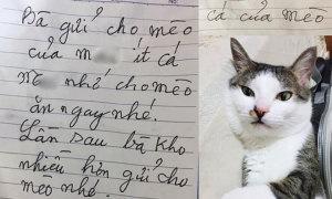 Được bà ngoại gửi cá kho, cháu gái 'khóc ròng' vì lời nhắn trên giấy