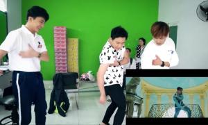 Trấn Thành cùng Gin Tuấn Kiệt và B Trần nhảy 'Hãy trao cho anh'