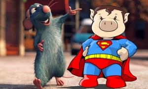 Con gì đầu chuột, đuôi heo?