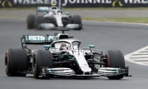 Hamilton về nhất tại Grand Prix Anh