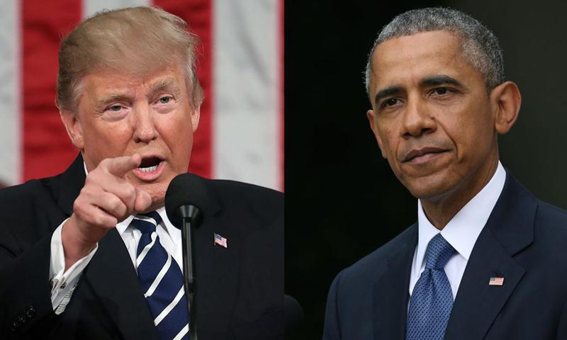 Tổng thống Mỹ Donald Trump mới đây đã chỉ trích mạnh mẽ cựu Tổng thống Barack Obama về vai trò của chính quyền tiền nhiệm trong chiến dịch tranh cử tổng thống năm 2016 của ông.