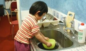 'Cha mẹ không cần trả tiền khi con phụ việc nhà'