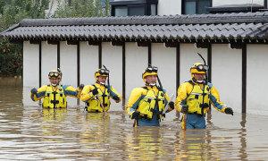 Người Nhật sợ hãi nước lũ sau bão Hagibis