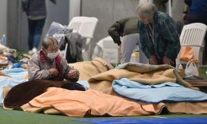 Điểm trú bão Nhật từ chối hai người vô gia cư