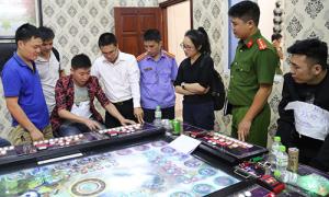 5 điểm cờ bạc do người Trung Quốc điều hành bị phát hiện