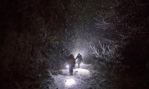 Vượt biên giữa bão tuyết
