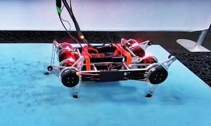 Robot của Google tự học đi trong môi trường thực