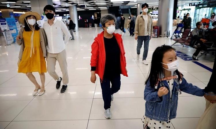 Ca nhiễm nCoV của Hàn Quốc tăng đột biến