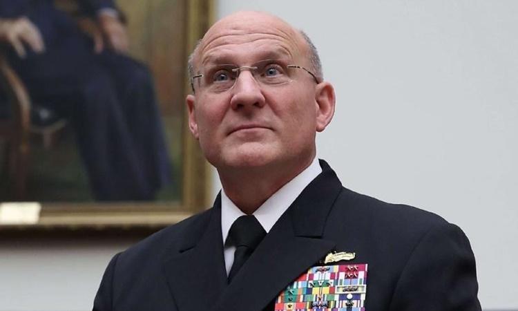 Tham mưu trưởng hải quân Mỹ tự cách ly