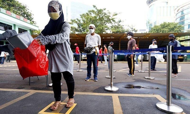 ATM gạo hỗ trợ người nghèo Indonesia giữa Covid-19