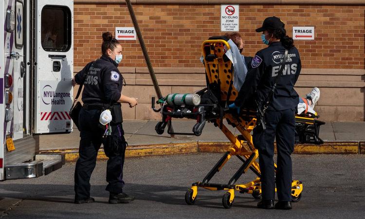 Gần 87.000 người chết vì nCoV tại Mỹ
