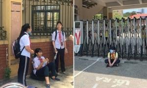 Ứng xử linh hoạt để học sinh không phải đứng nắng