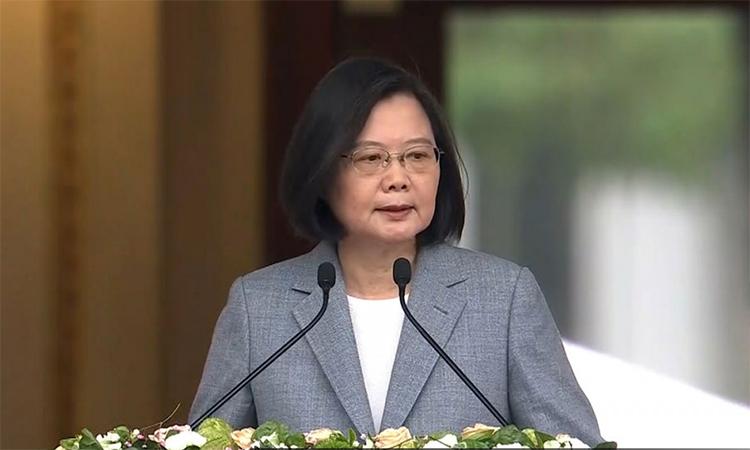 Lãnh đạo Đài Loan hứa 'hỗ trợ dân Hong Kong'
