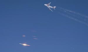 Công ty Mỹ phóng tên lửa từ máy bay thất bại