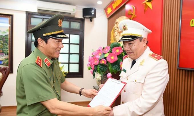 Bộ Công an bổ nhiệm gần 20 chức danh lãnh đạo
