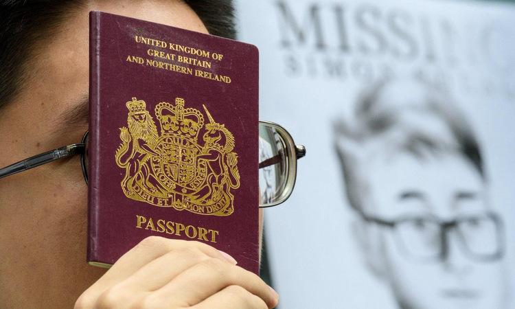 Gần 3 triệu dân Hong Kong có thể xin làm công dân Anh