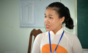 Cô giáo hát cải lương Truyện Kiều để học sinh dễ nhớ bài
