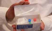 Kit thử nhanh nCoV của Việt Nam hiển thị bằng màu
