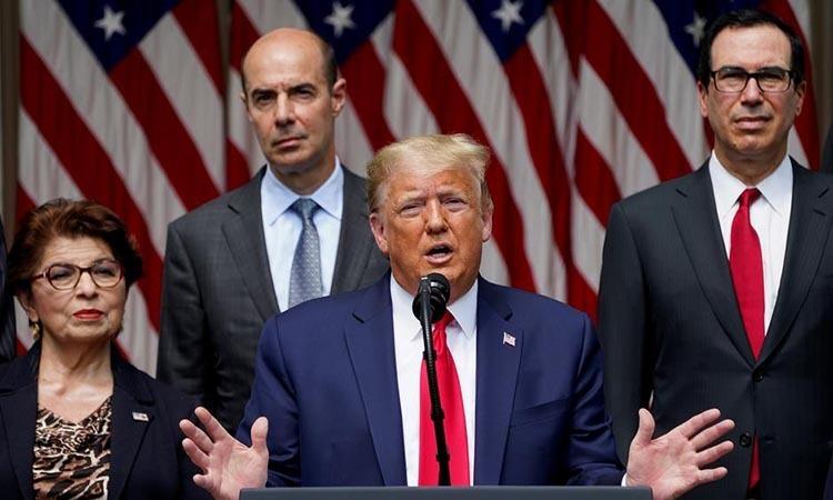 Trump hy vọng George Floyd 'nhìn xuống Mỹ từ thiên đường'
