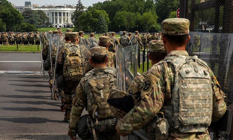 Mỹ chi gần 3 triệu USDmỗi ngày cho vệ binh ở thủ đô