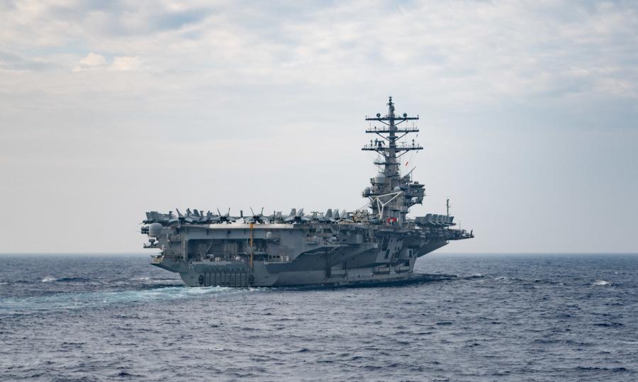 Mỹ 'răn đe Trung Quốc' bằng ba tàu sân bay tới châu Á