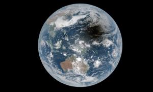 Bóng Mặt Trăng trên bề mặt Trái Đất