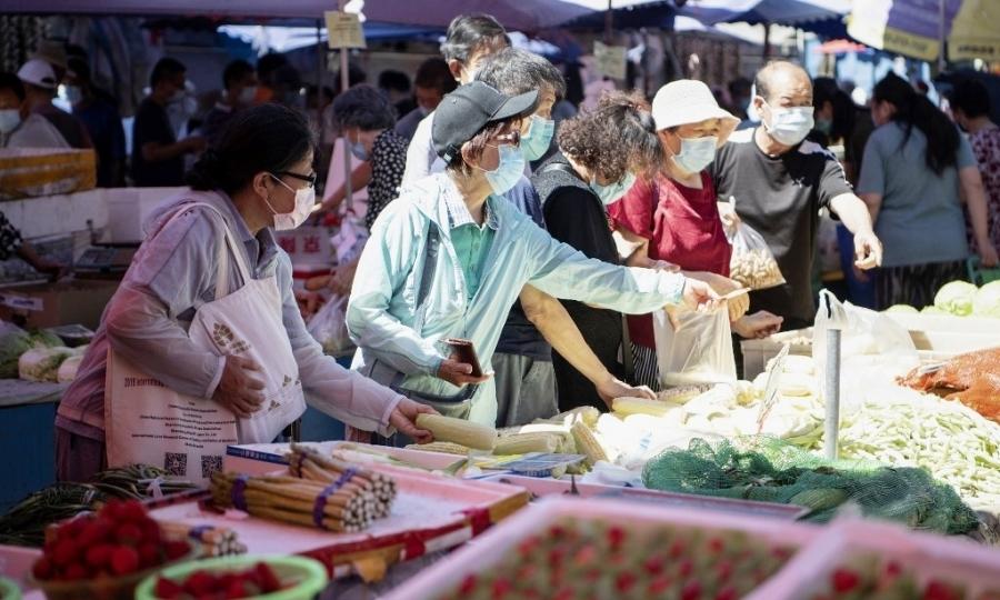Chợ truyền thống - phần gắn liền với người Trung Quốc