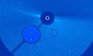 Tàu vũ trụ phát hiện sao chổi thứ 4.000