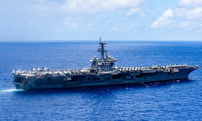 Trung Quốc cảnh báo nguy cơ xung đột trên biển với Mỹ