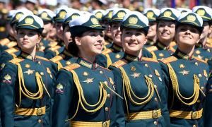 Những quân nhân Nga trong Duyệt binh Chiến thắng