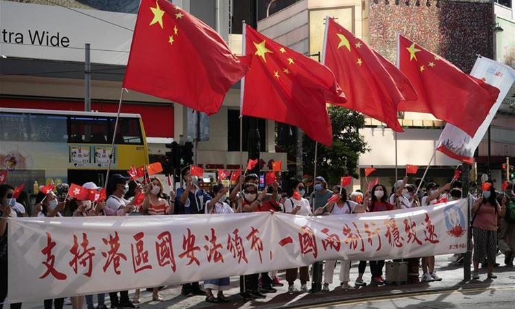 Trung Quốc nói 52 nước ủng hộ luật an ninh Hong Kong