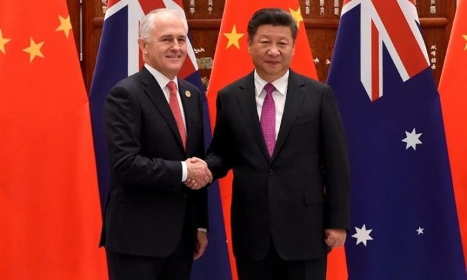 'Tình nồng' Australia - Trung Quốc nguội lạnh